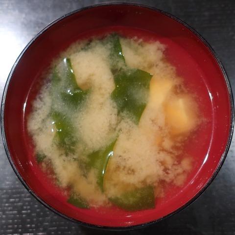 味噌汁(丸槁)