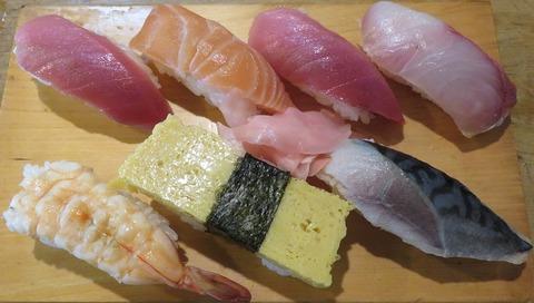 にぎり(盛寿司)800
