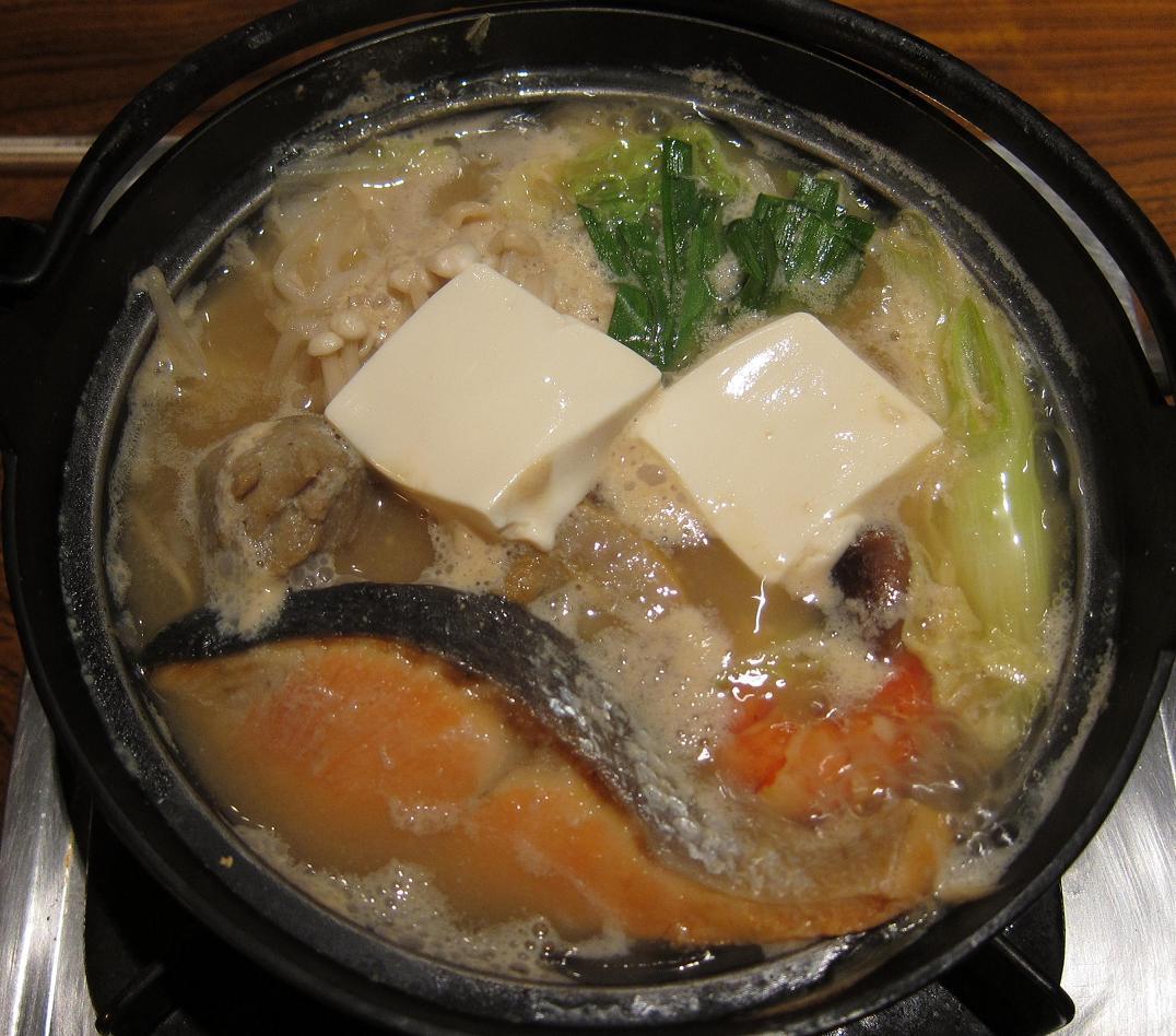 海鮮ちゃんこ鍋(加熱後)