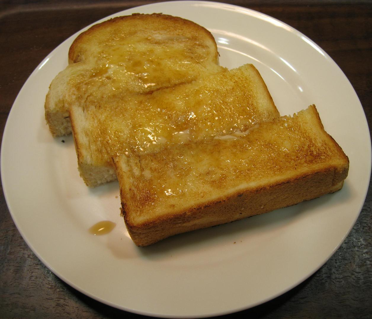 メイプルバタートースト