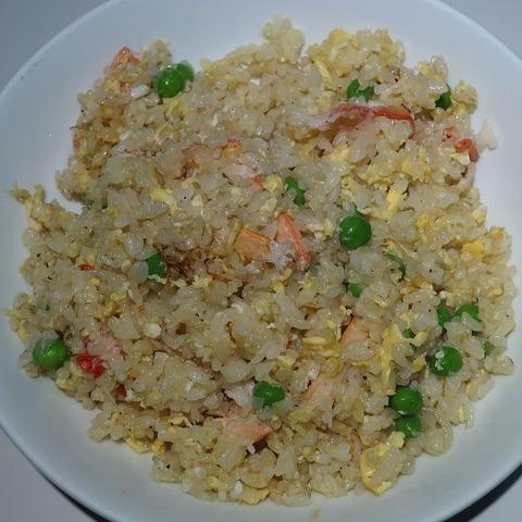 蟹炒飯(梅華菜館)1000