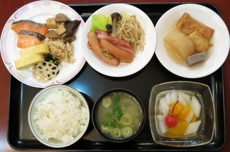 朝食ブッフェ1848円