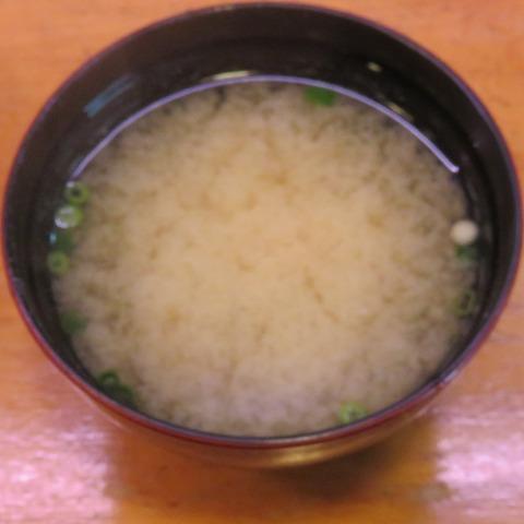 味噌汁(鮨八) (2)