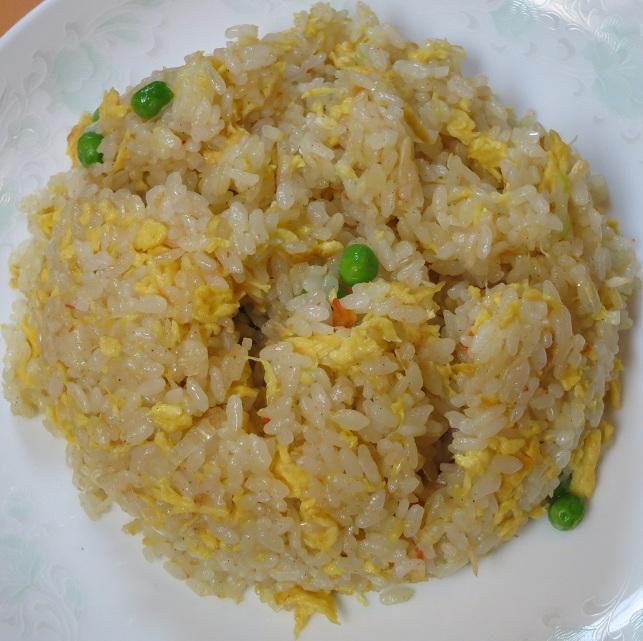 蟹炒飯アップ