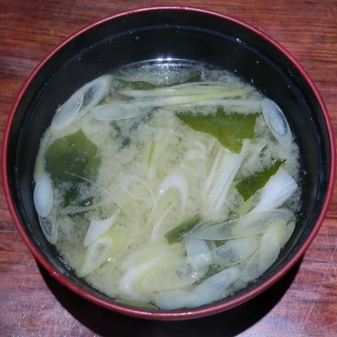 味噌汁(大舞)