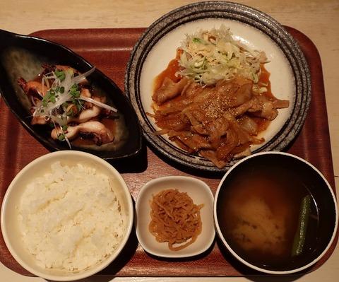 オカズ2品+定食セット(エニシ)
