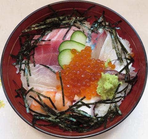 海鮮丼(卯の花)