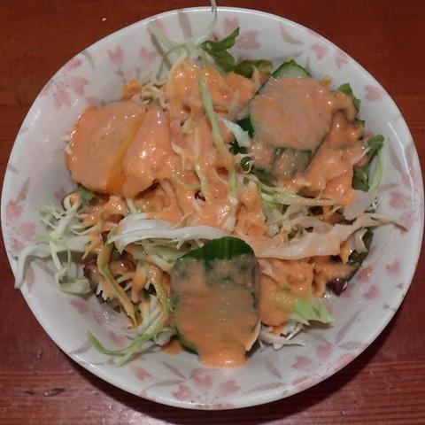 サラダ(ニューデリ)
