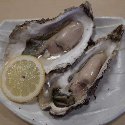 厚岸産牡蠣(味泉)800