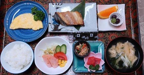 朝食(四国屋)1100