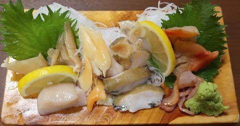 貝類盛合(磯乃香)2000
