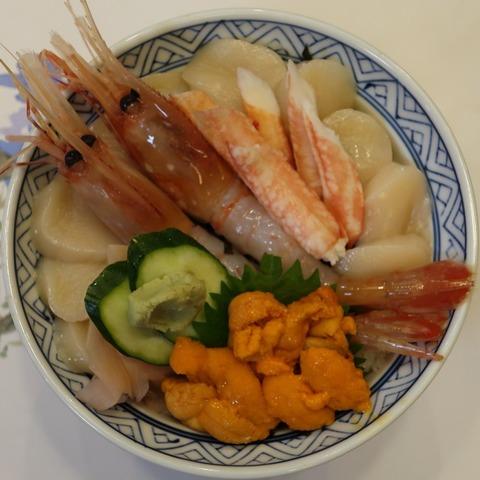 紋別港丼(政寿司)2800