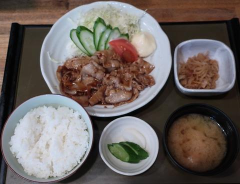 生姜焼定食(いち川)935