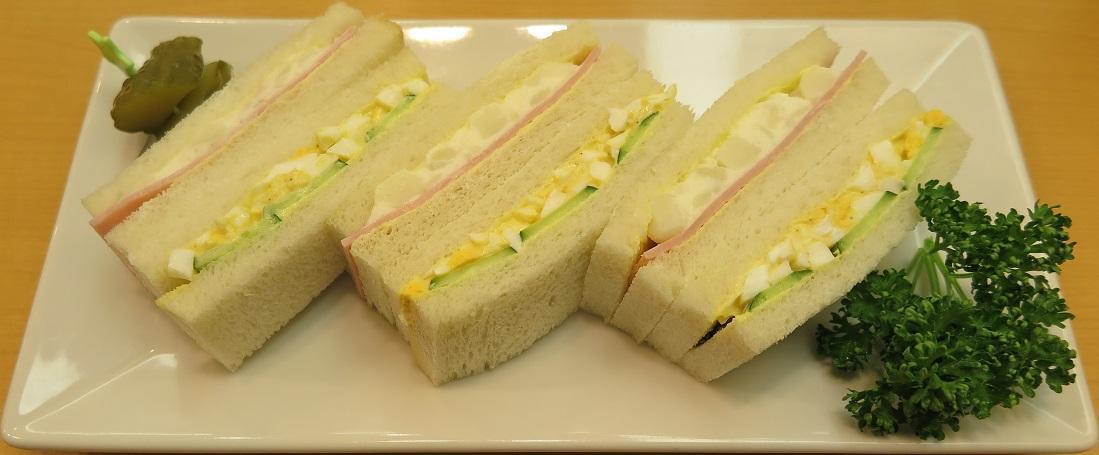 Poteto & Egg sandwich