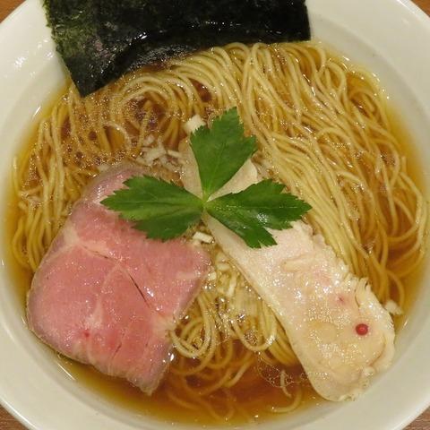 醤油ラーメン(七麺鳥)750