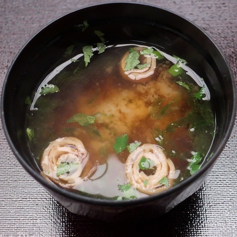 味噌汁(雲海)
