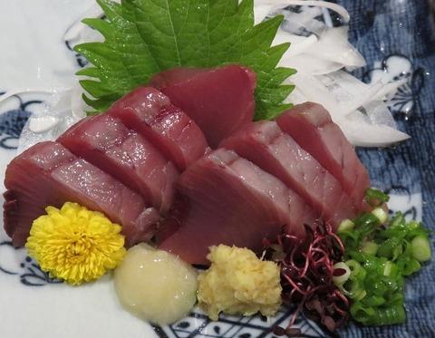 カツオ刺(紫)