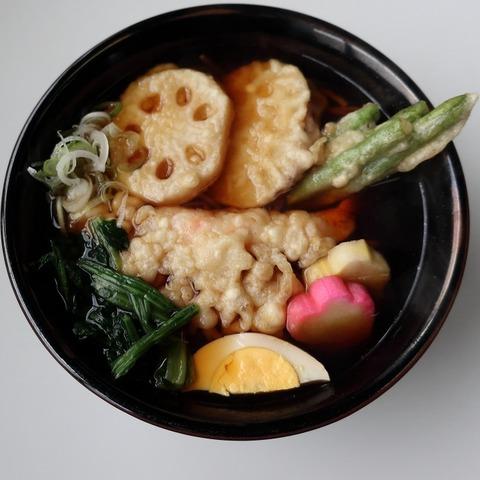 天ぷらそば(蓮月)850
