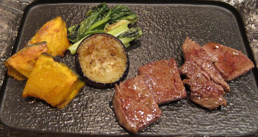 京都産丹波黒毛和牛と京野菜