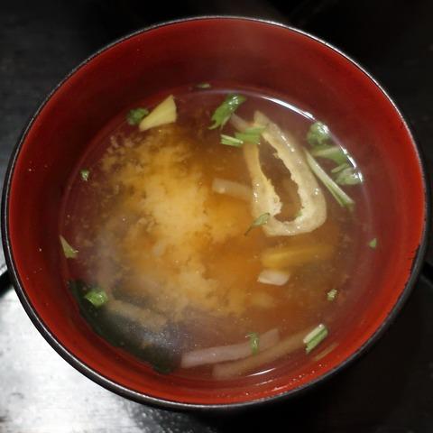味噌汁(會水庵)