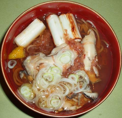 牡蠣蕎麦(川さき)