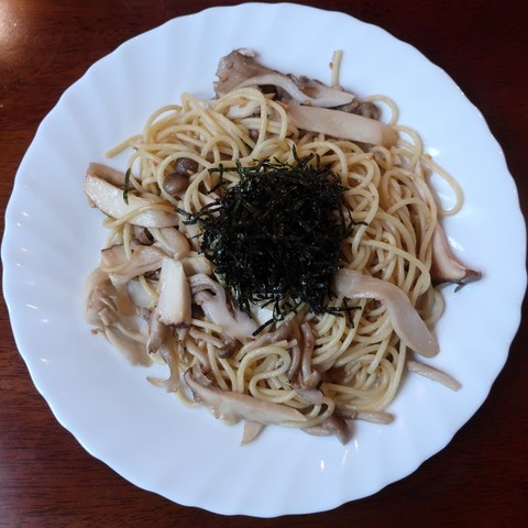 和風きのこスパゲッティ(豆の樹)