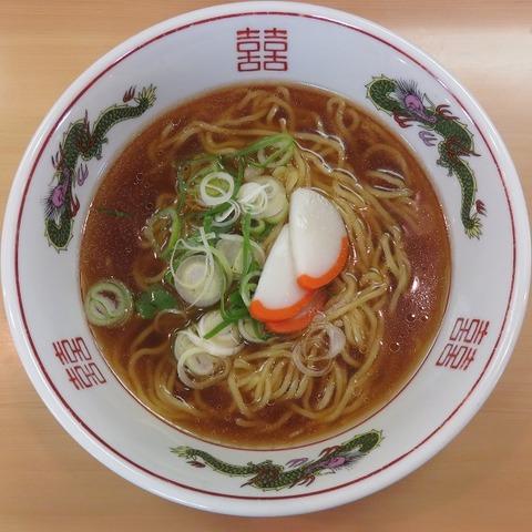 肉なし醤油ラーメン(厚切りチャーシュー家)550