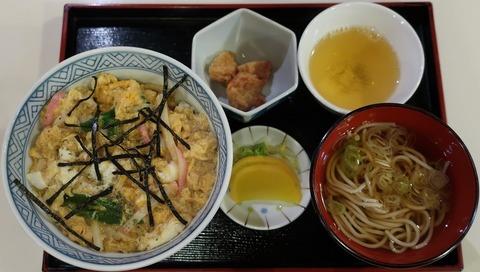 木の葉丼定食(まるき)860