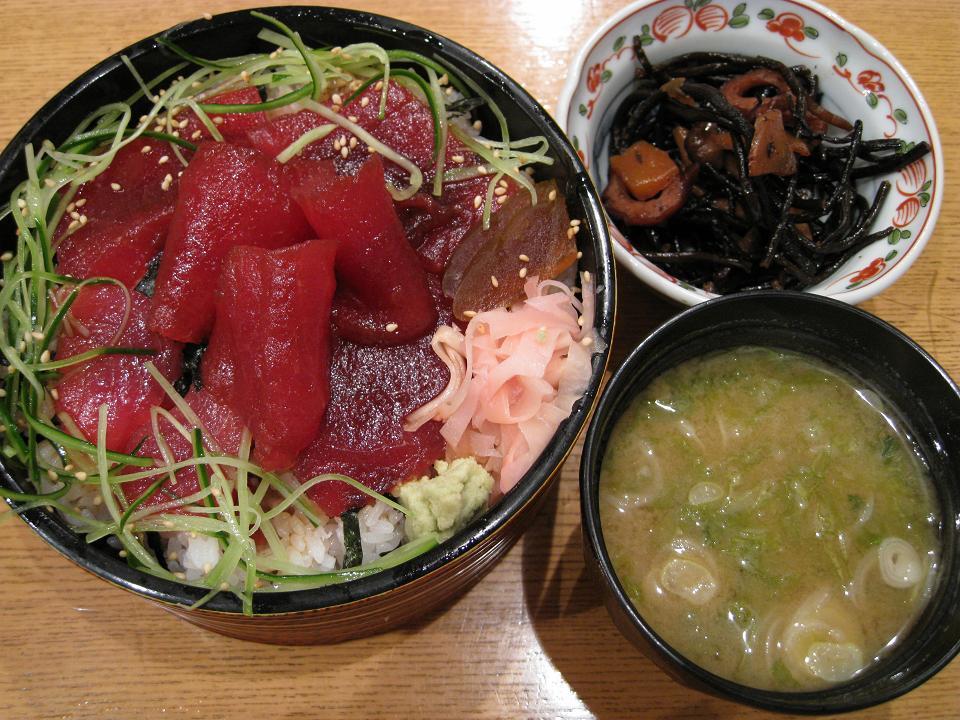 鮪ヅケ丼(ランチ)