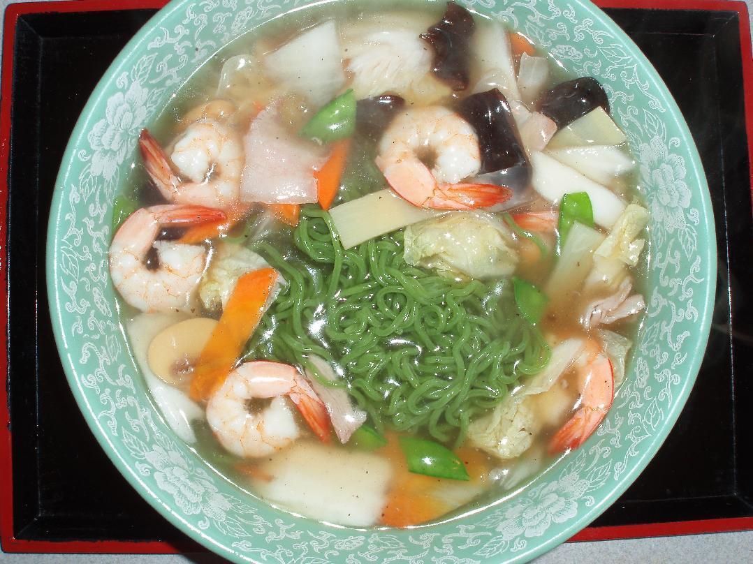 海老広東麺
