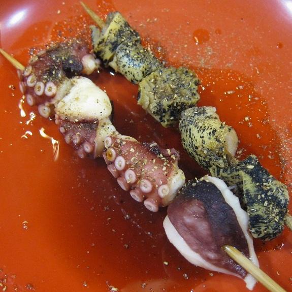 たこ足・つぶ貝