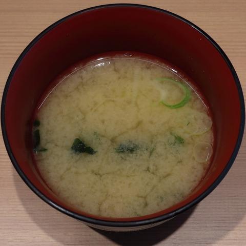 味噌汁(花火寿司)