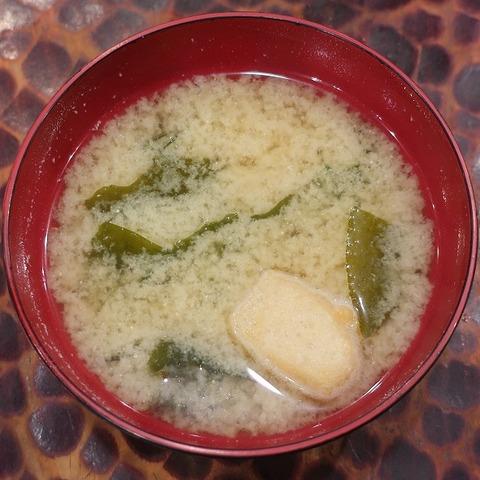 味噌汁(長寿庵)