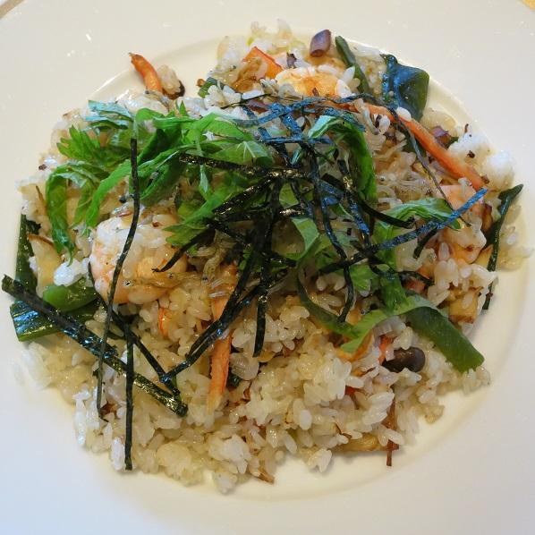 "Shrimps&Crabmeat Pilaff""Japanese"""