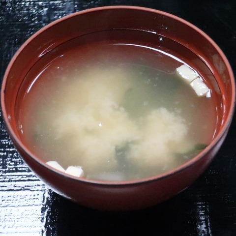 味噌汁(かなや)