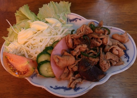 生姜焼(みねぎし)