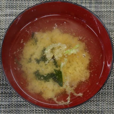 味噌汁(はまべ)