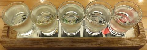 地酒利き酒セット(魚仙)1000