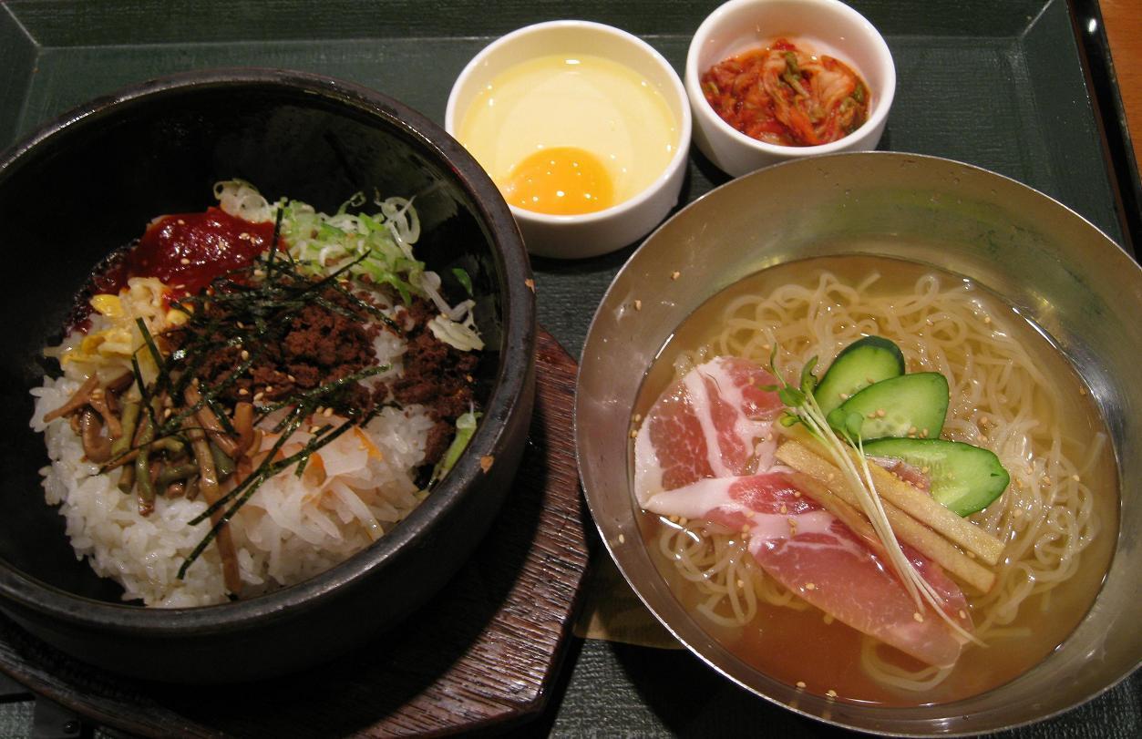 石焼ビビンバ&ミニ冷麺