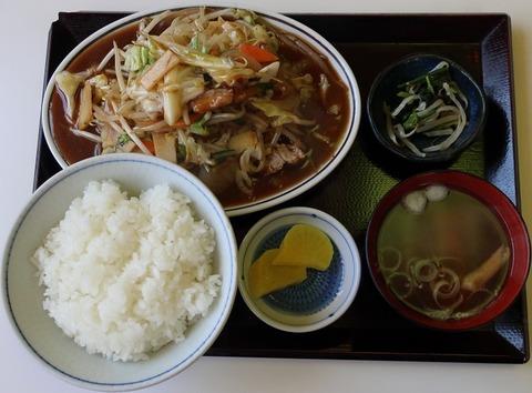 野菜炒め定食(三喜)750