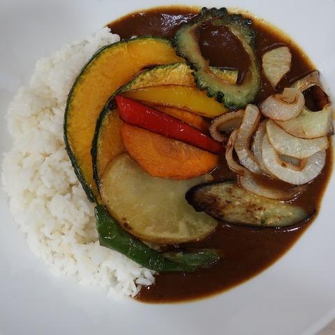 野菜カレー(ポーク)(シロクマカレー)800