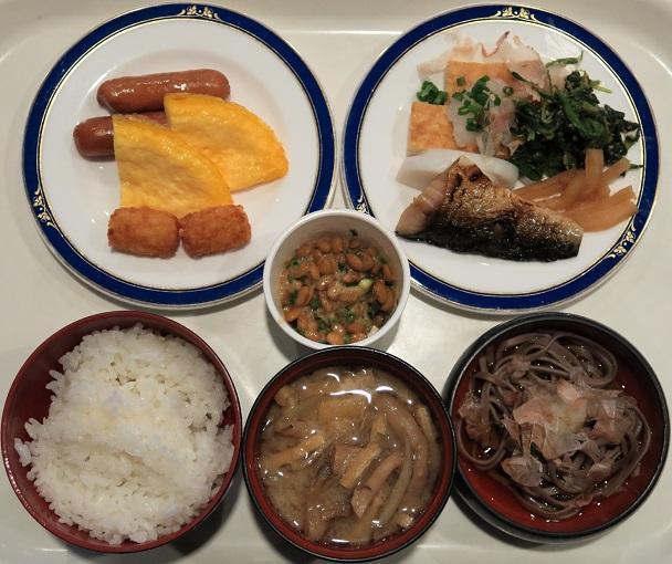 和洋朝食ブッフェ1,340円