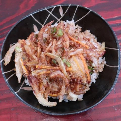掻揚丼(しぇもと)
