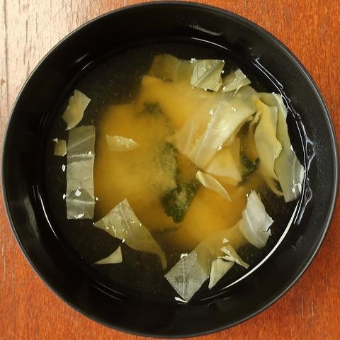 味噌汁(北館地下食堂)