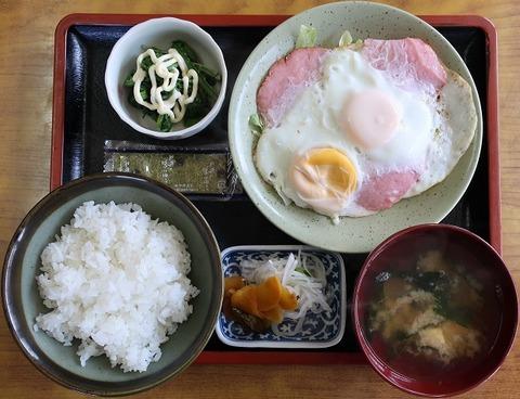 はむえっぐ定食(よし本)750