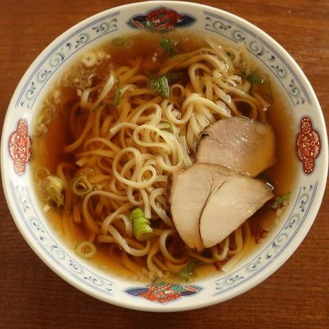 醤油ラーメン(東峯園)500