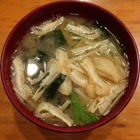 味噌汁(幸寿司)