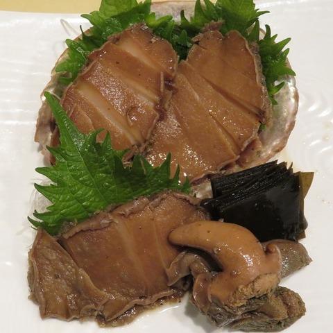 鮑の煮貝(多ぬき)2600