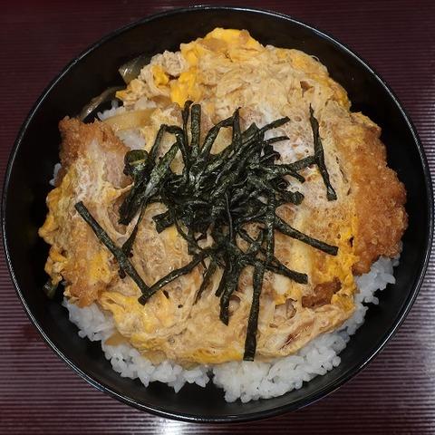 ヒレカツ丼(砂場)1100