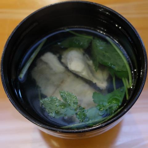 吸物(剣寿司)